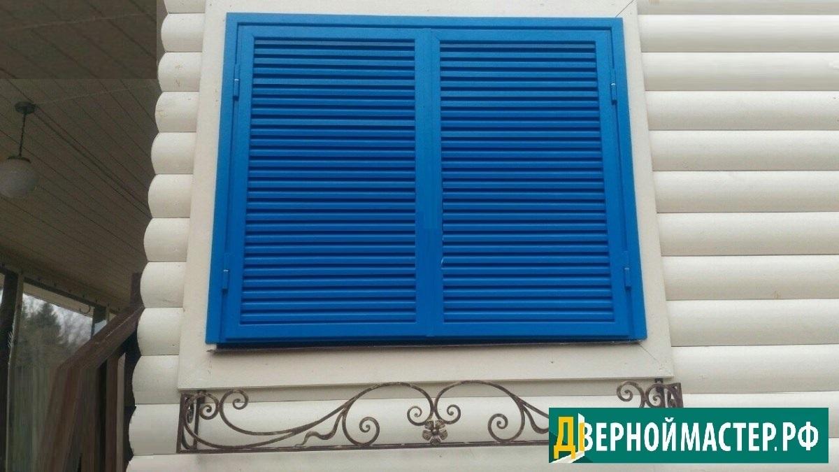 Ставни на окна металлические установка по смешным ценам