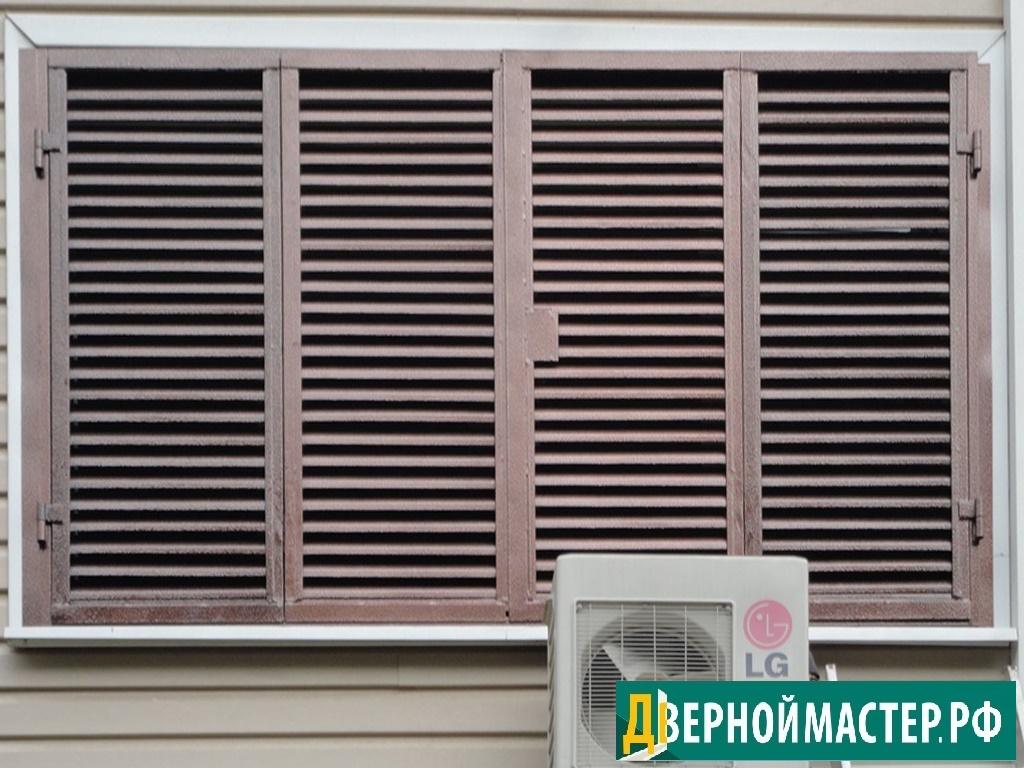 Металлические ставни жалюзи на окна с хорошими скидками, цены от производителя