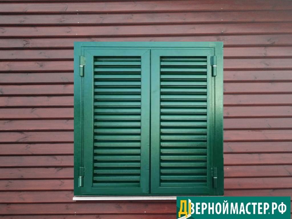 Купить ставни на окна суперсовременного качества. Цена в Москве ниже некуда.