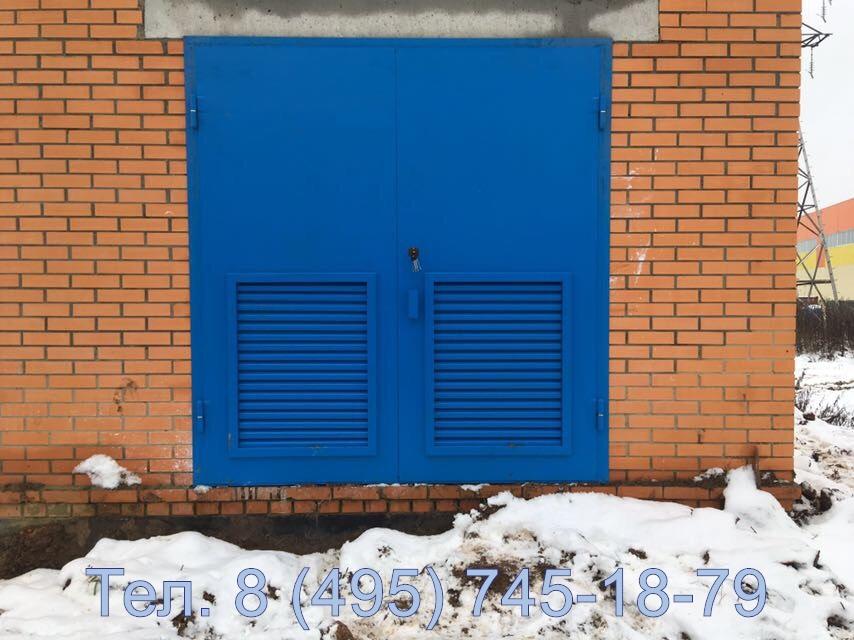 Производство ворот для трансформаторной подстанции, купить с установкой в Москве